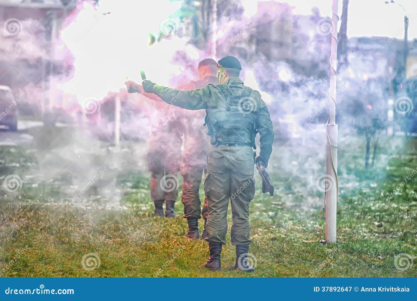 Manifestazione di Marine Corps