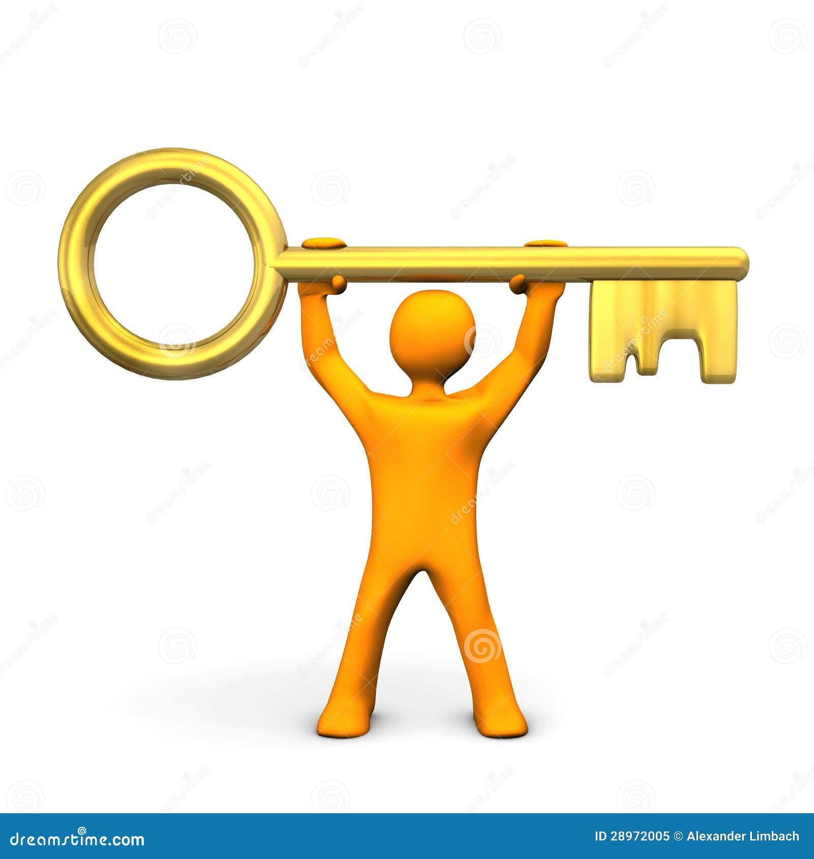 Manikin Złoty klucz
