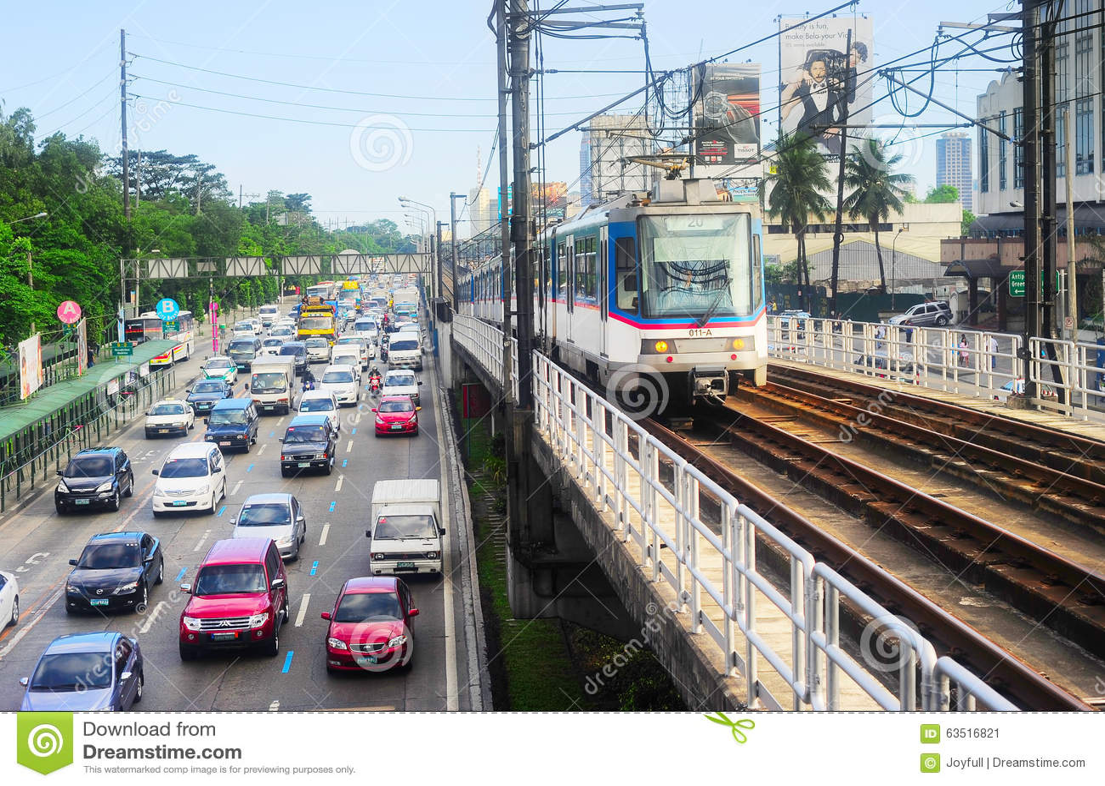 Manila ruch drogowy, Filipiny