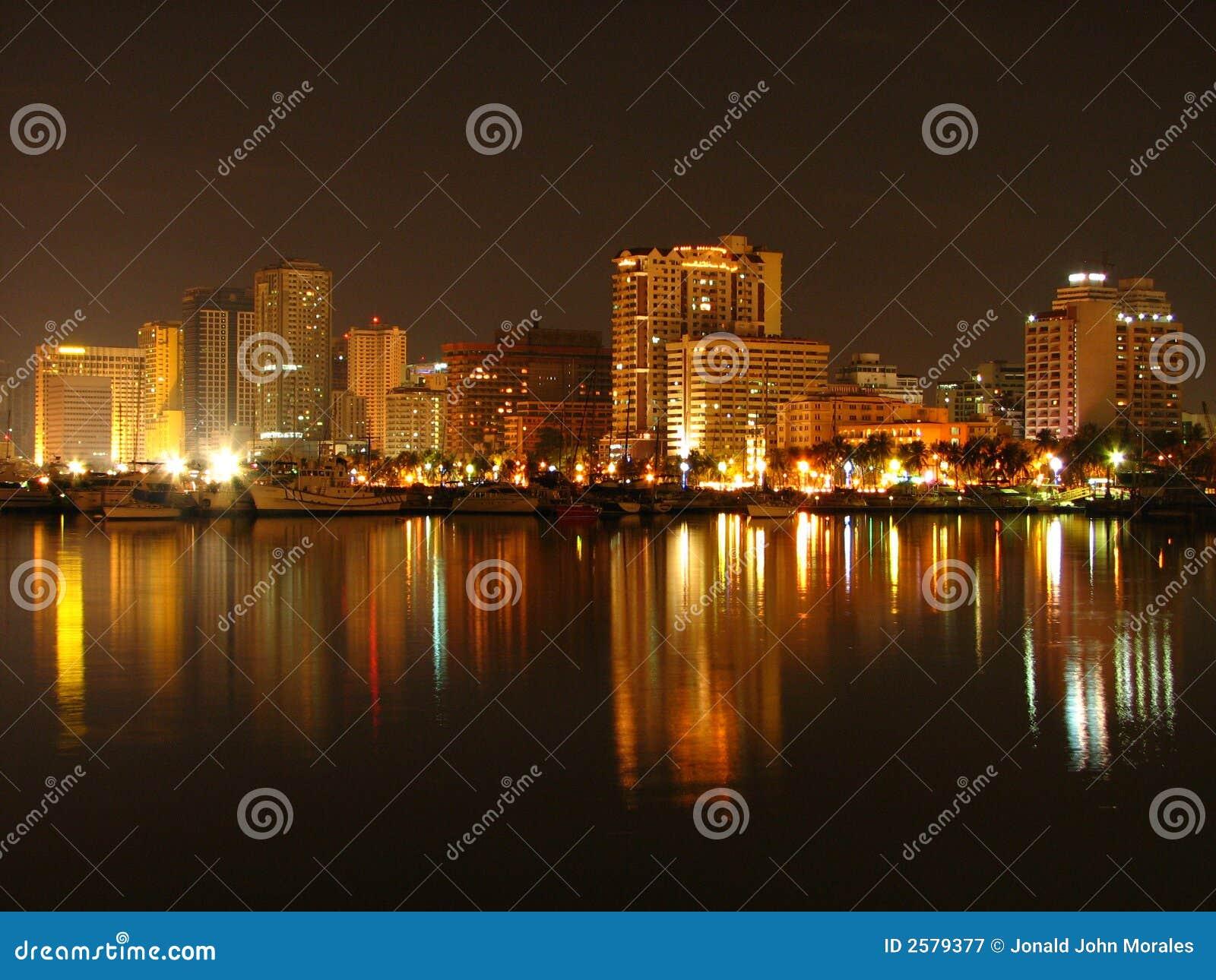 Manila-Schacht-Skyline