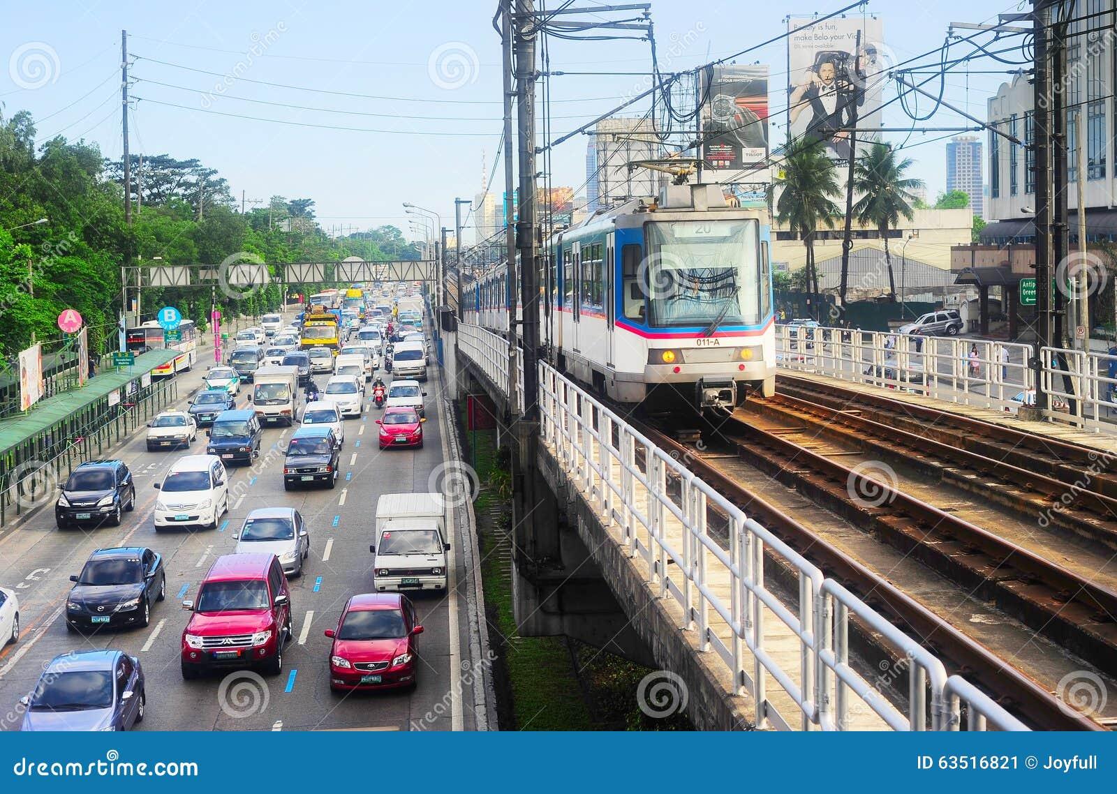 Manila-Verkehr, Philippinen