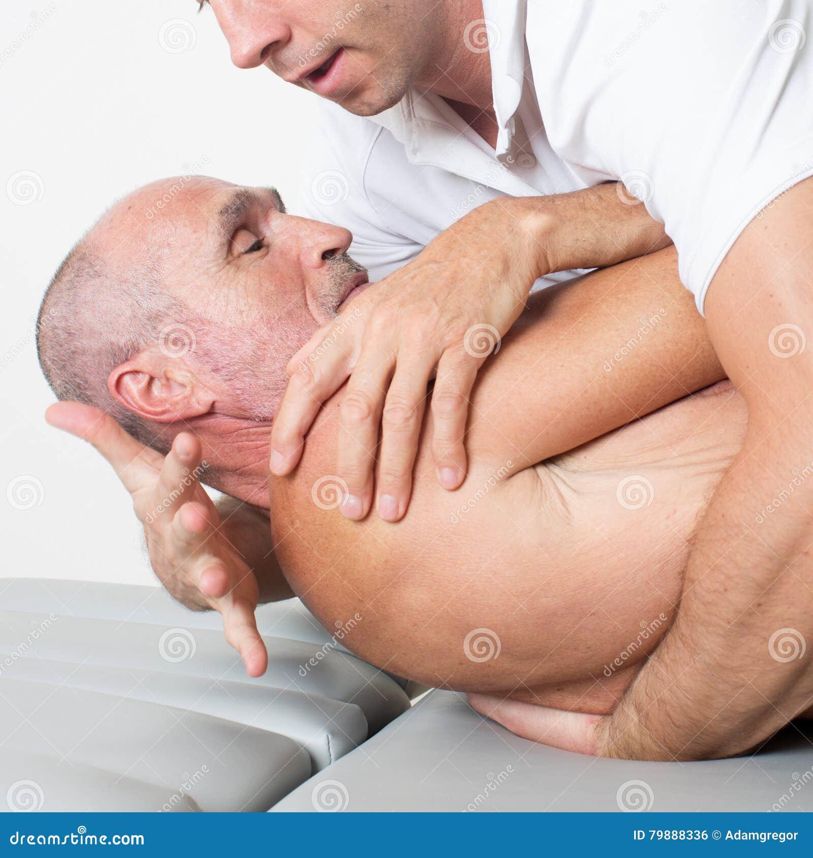 Manipulation de physiothérapie
