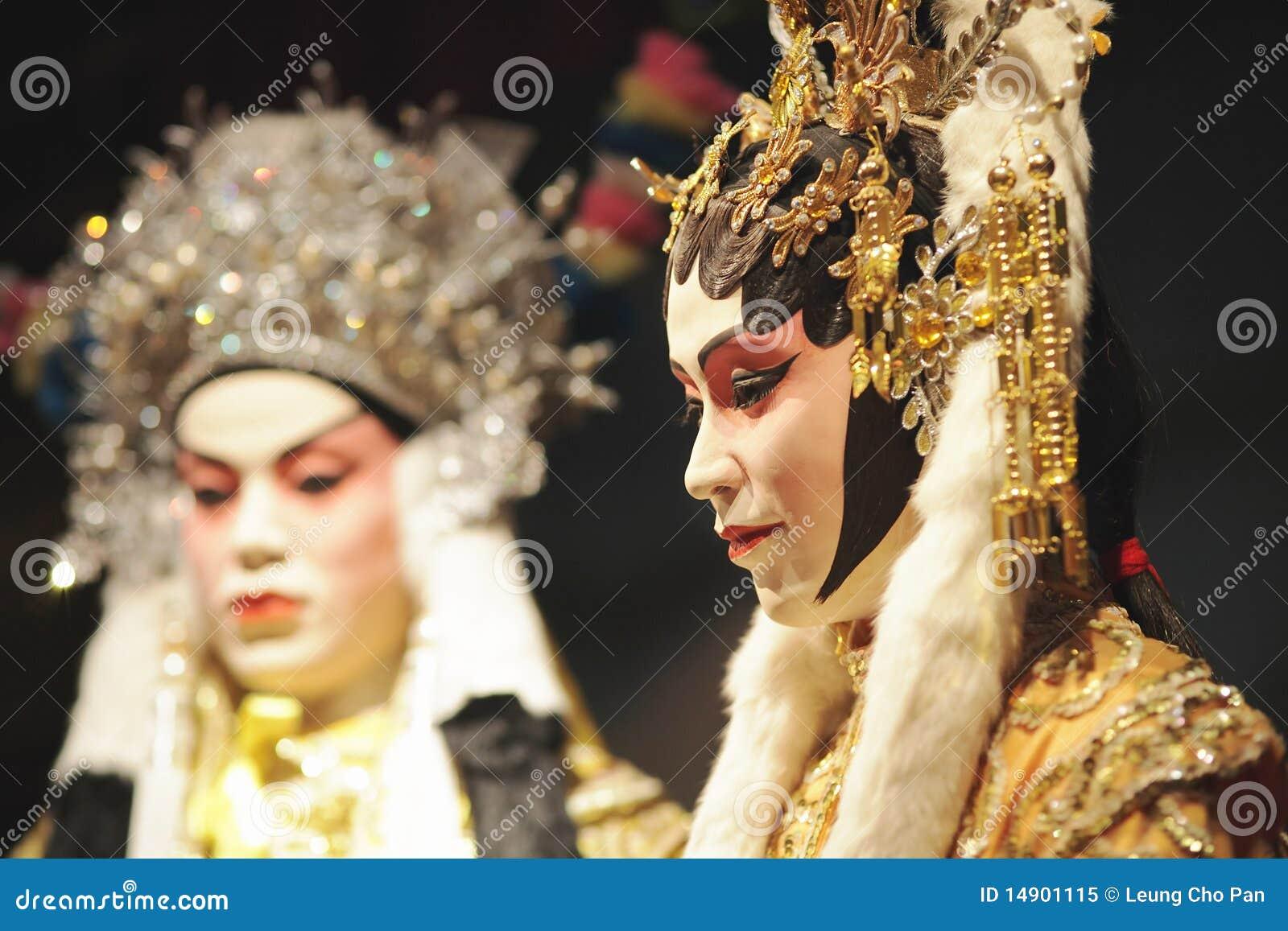 Maniquí chino de la ópera