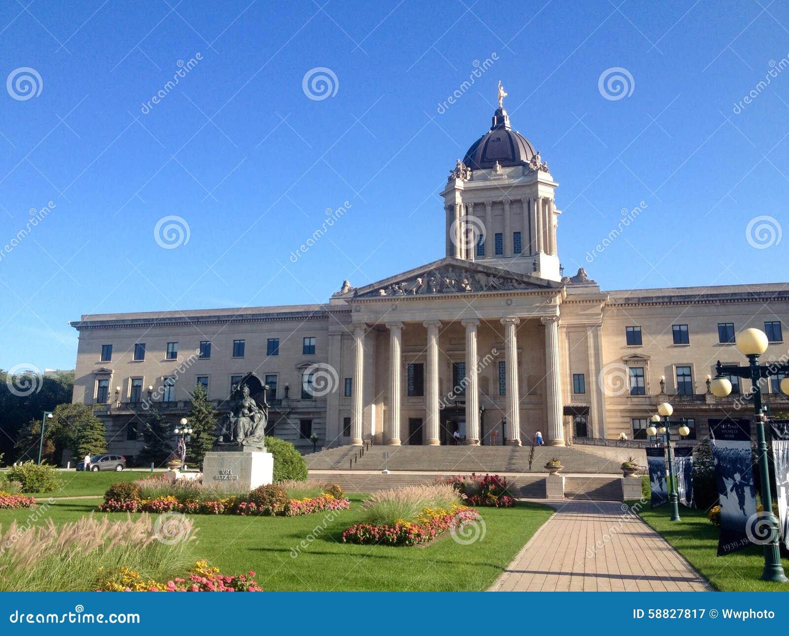 Manitoba lagstiftnings- byggnad i Winnipeg