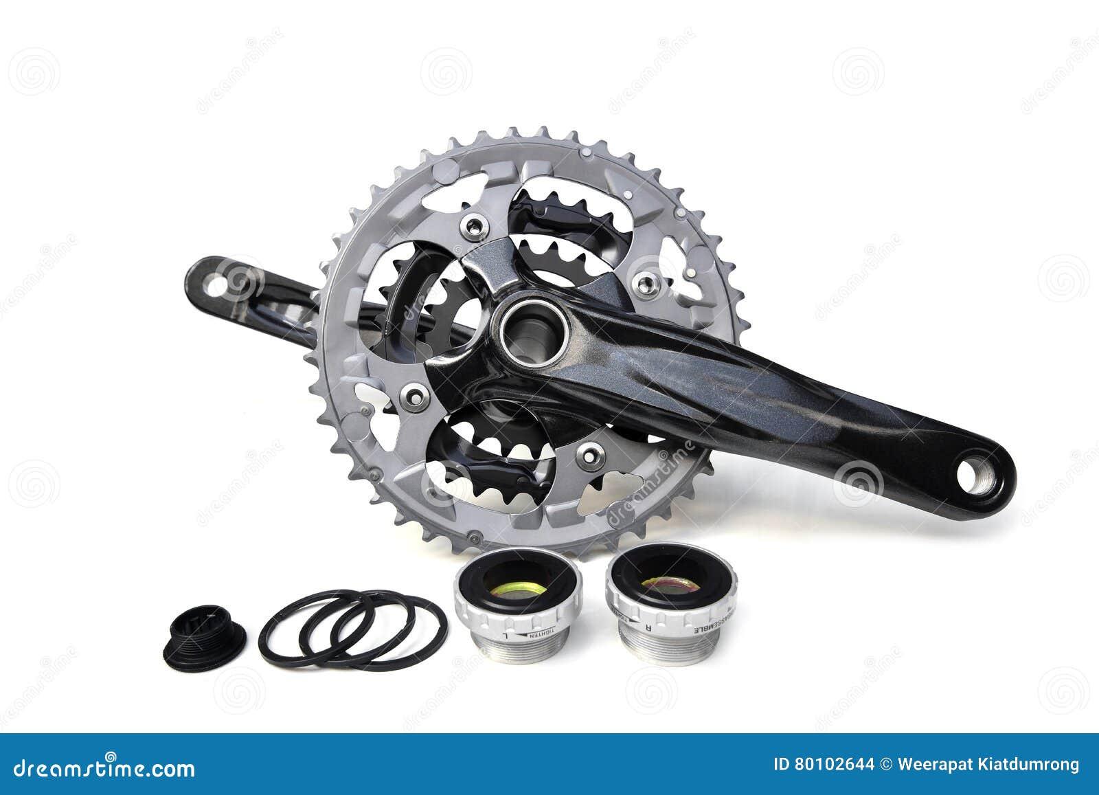 Manivela da bicicleta