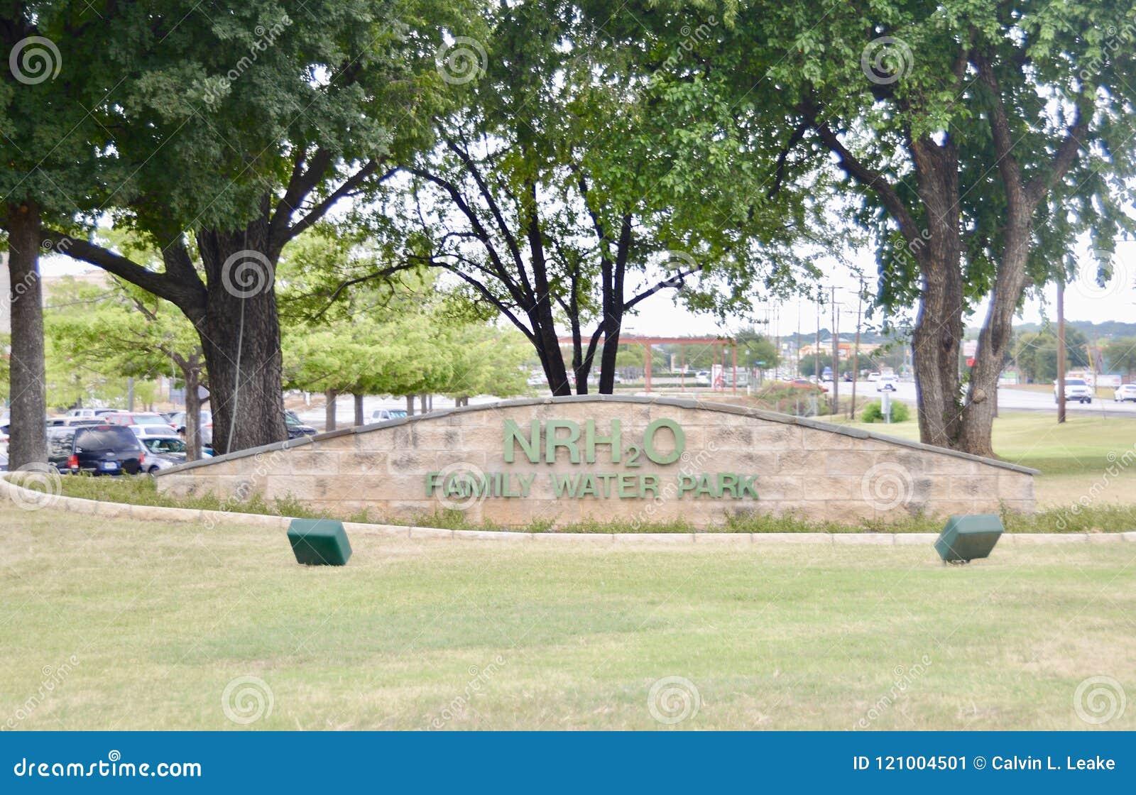 NRH2O Water Park, North Richland Hills, Texas Editorial