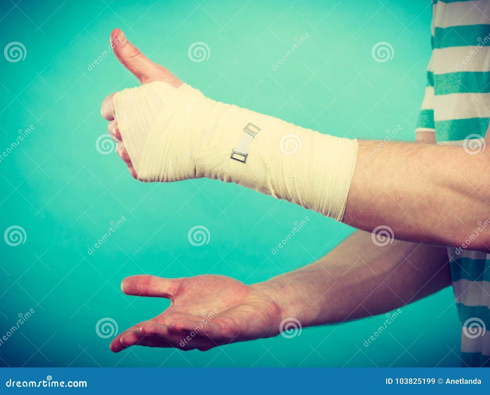 Mann Mit Der Hand Befriedigen