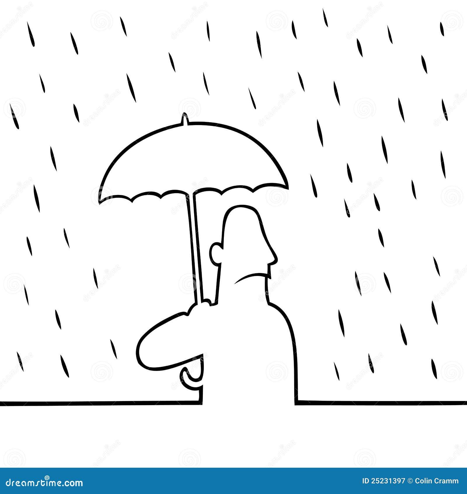 Fantastisch Malvorlagen Regenschirm Regen Zeitgenössisch - Beispiel ...