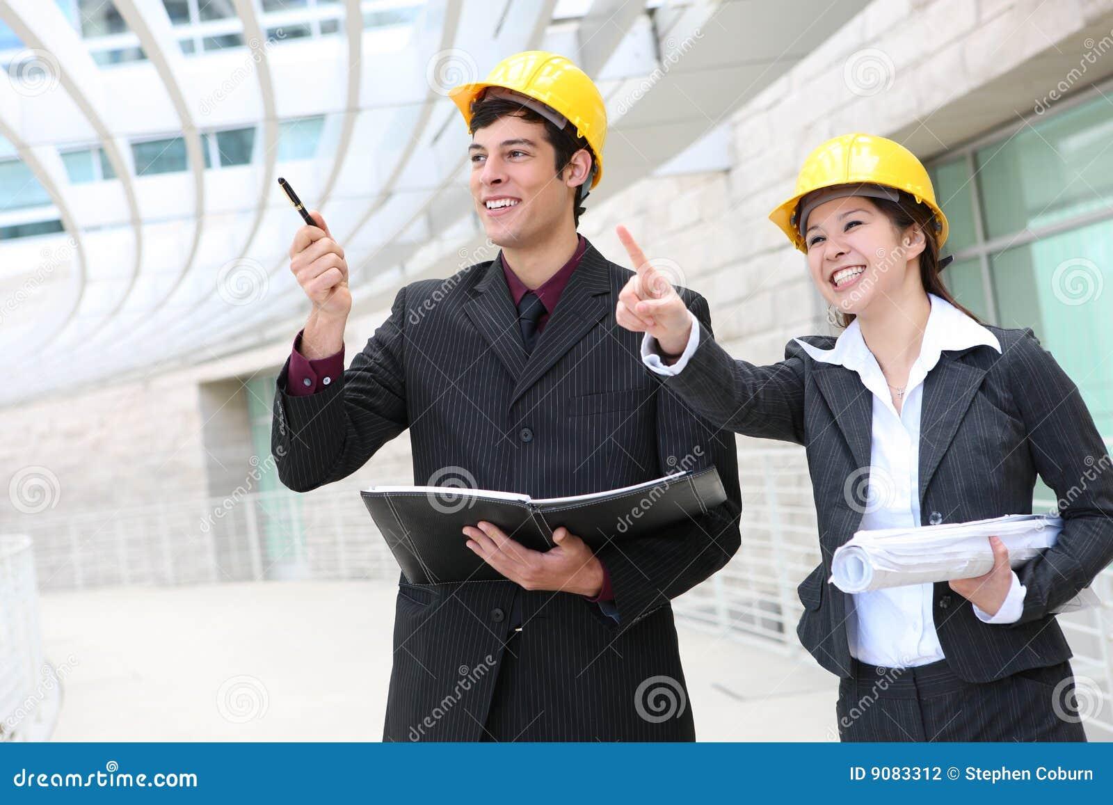 Mann-und Frauen-Architekten