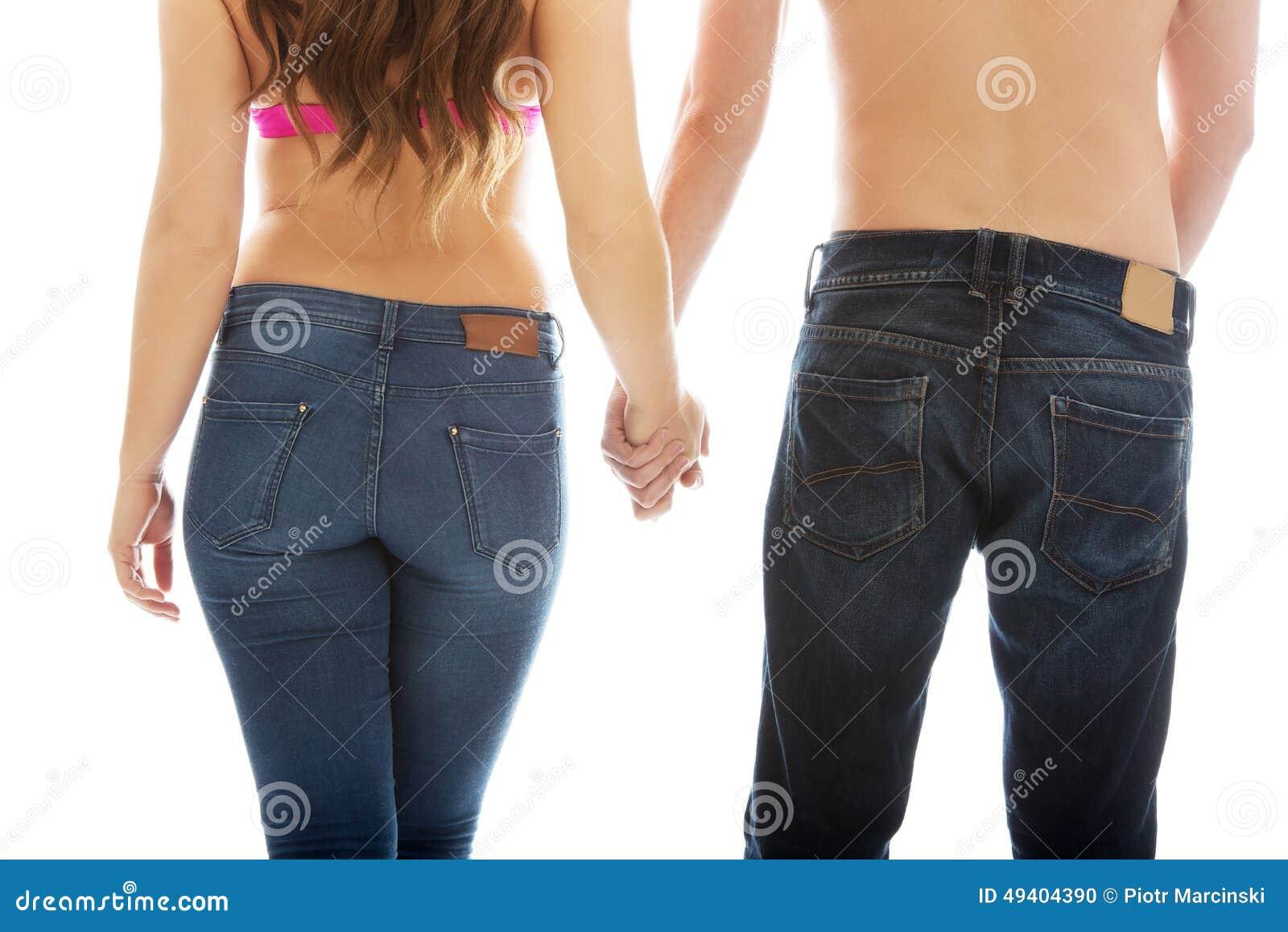 Download Mann- Und Frauenhändchenhalten Zusammen Stockfoto - Bild von unterstützung, beiläufig: 49404390
