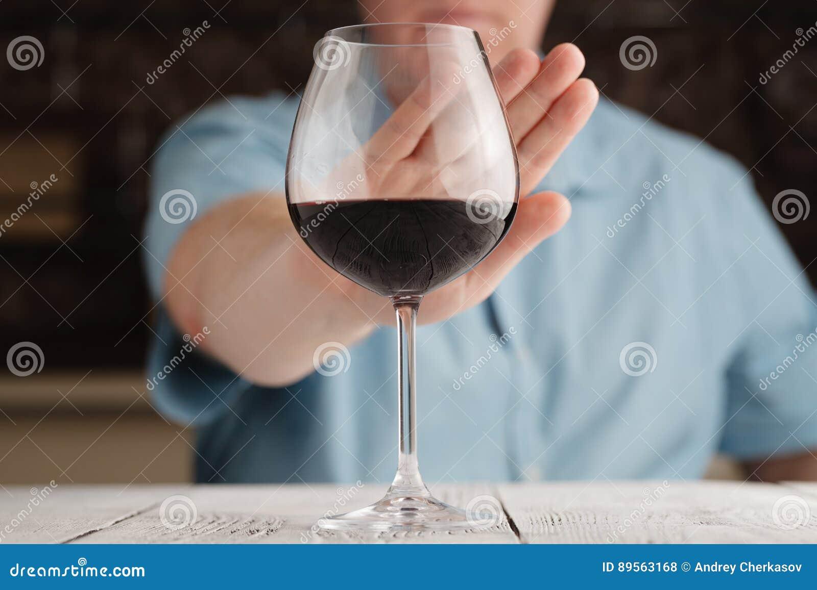 Mannabfall Alkohol