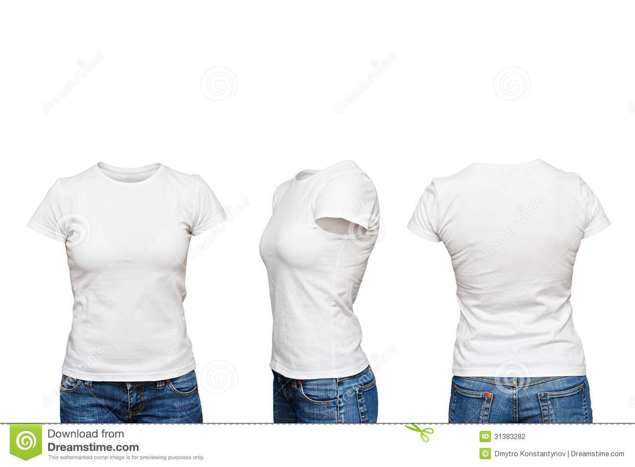Mannequin in blank white t shirt stock photography image for White blank t shirt