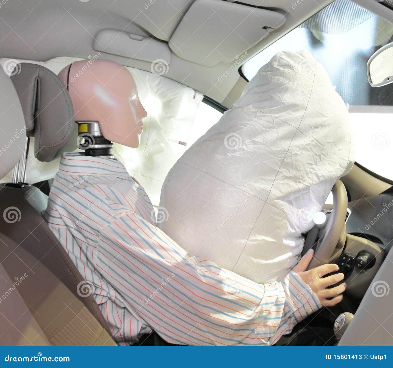 Car Stock Photos: Mannequin In A Car Stock Photos