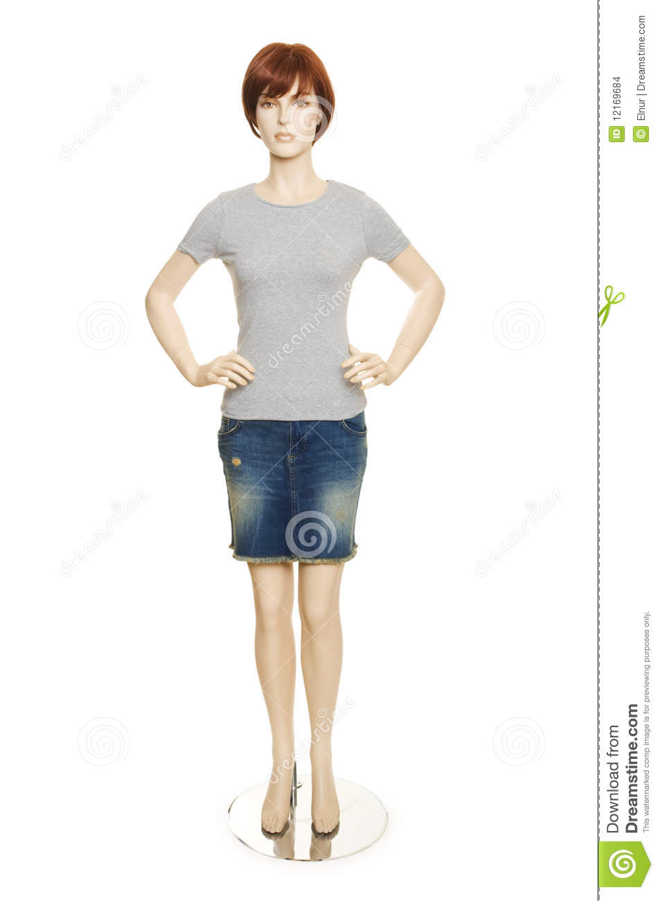 mannequin with clothing isolated stock images image