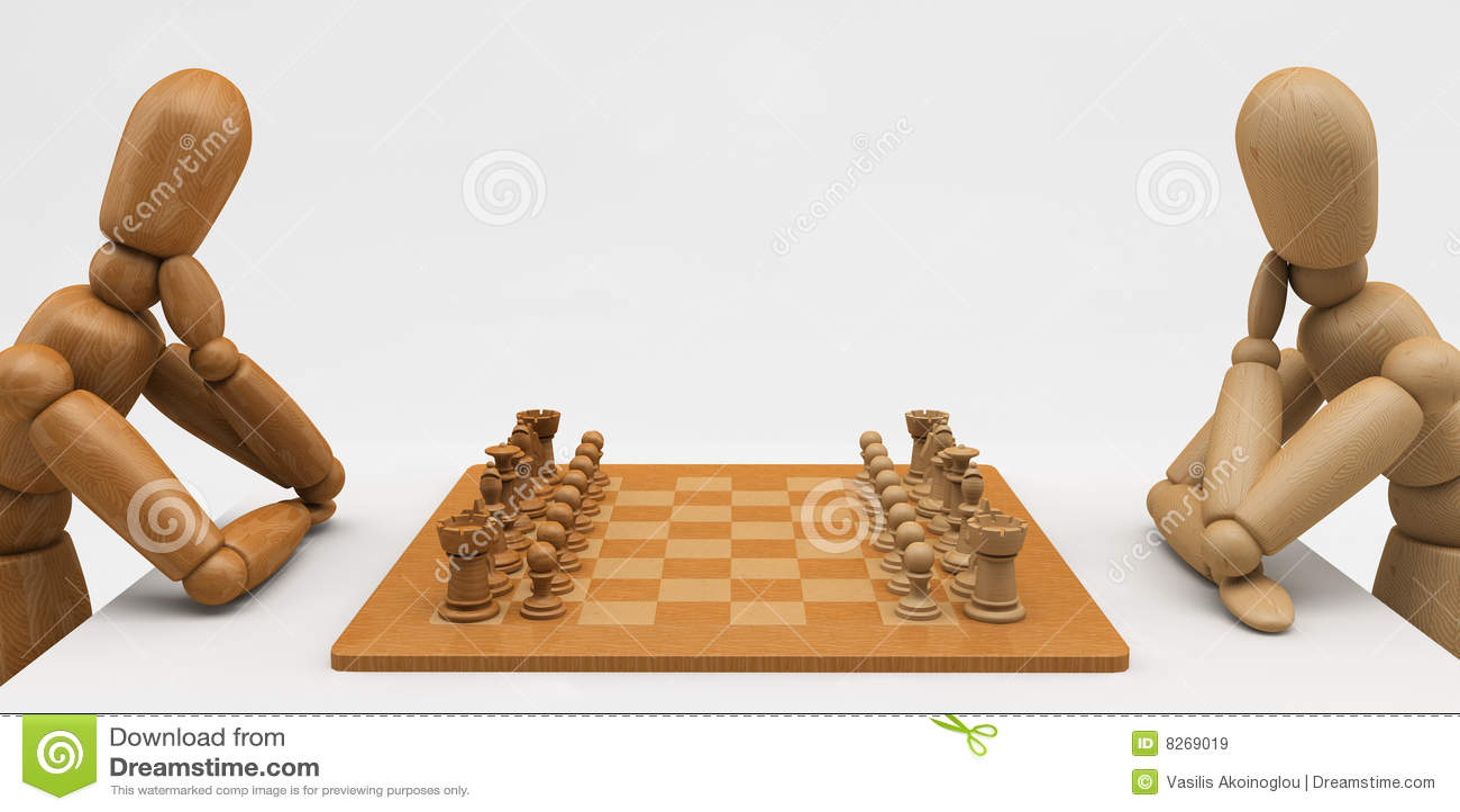 Mannequin d échecs