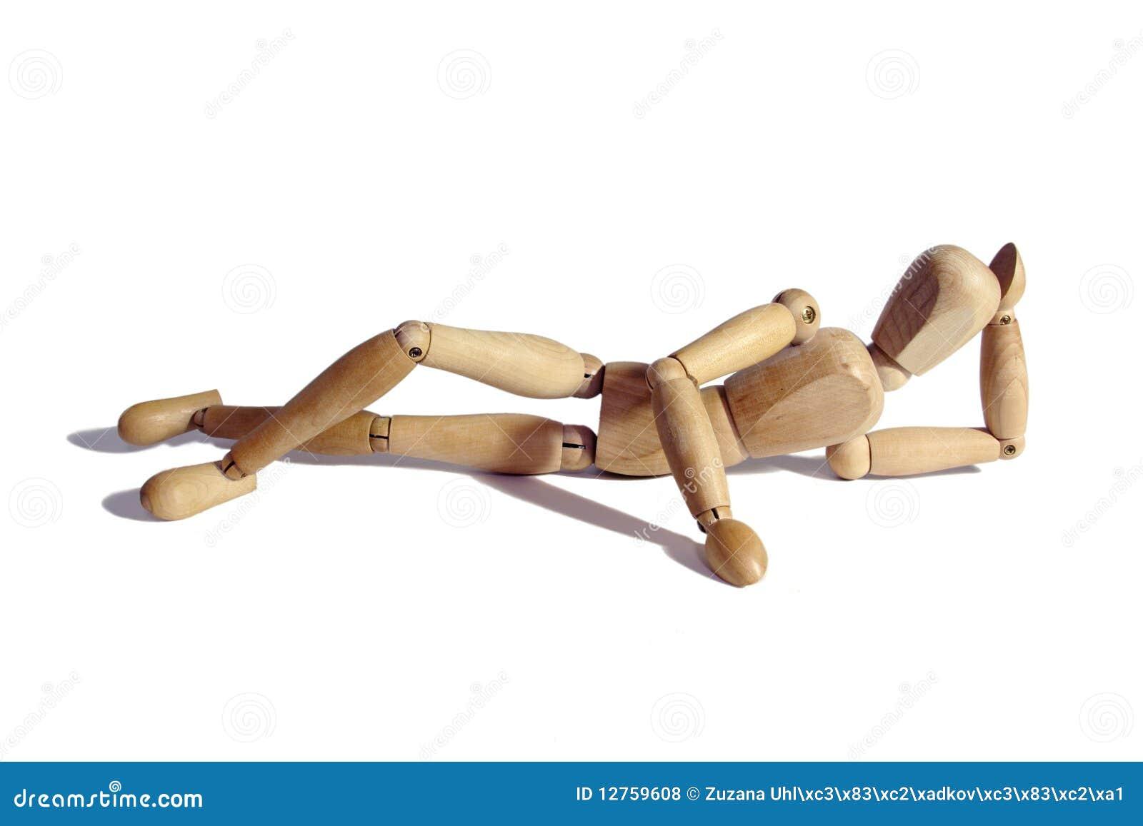 Mannequin drewniany
