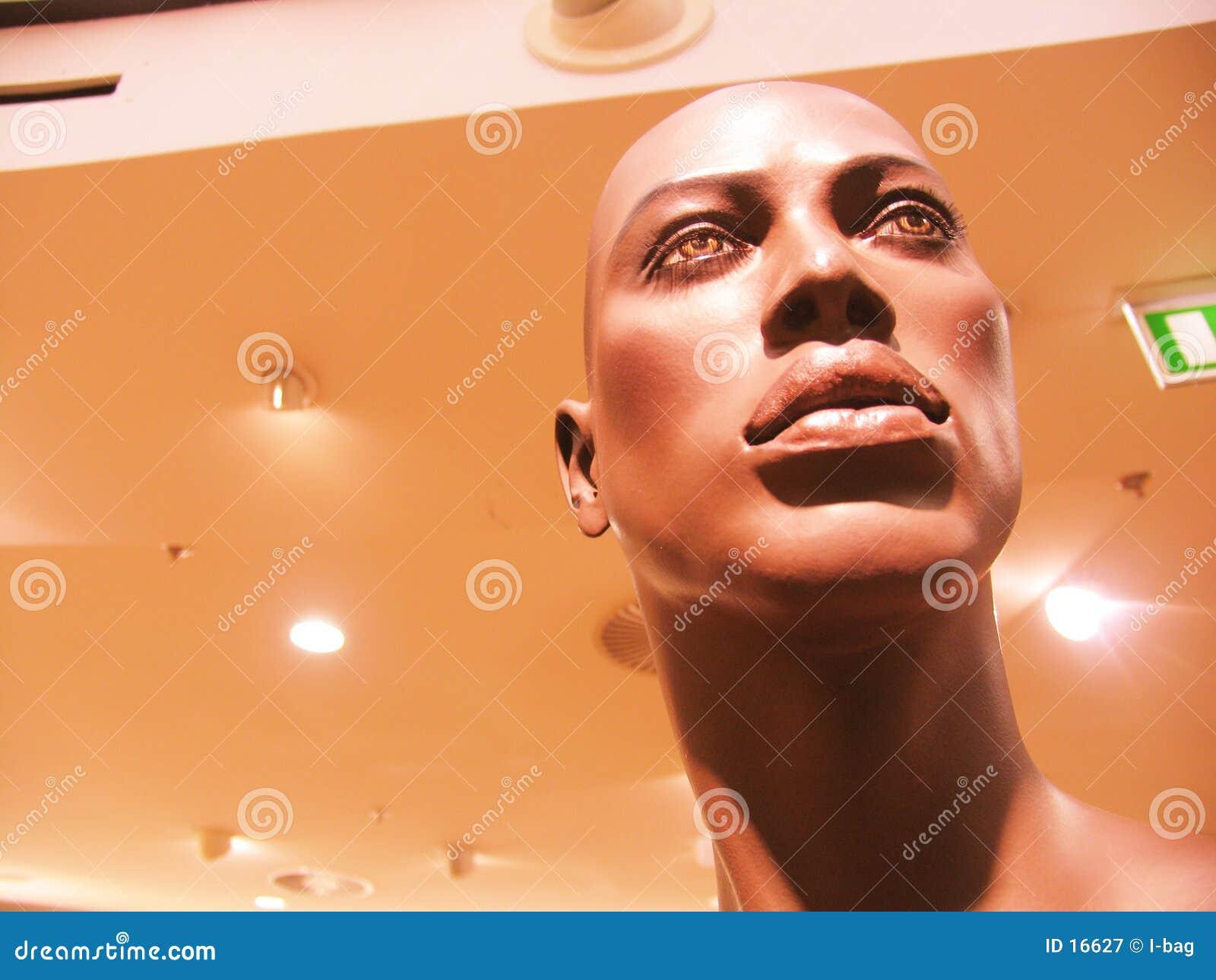 Mannequin en plastique