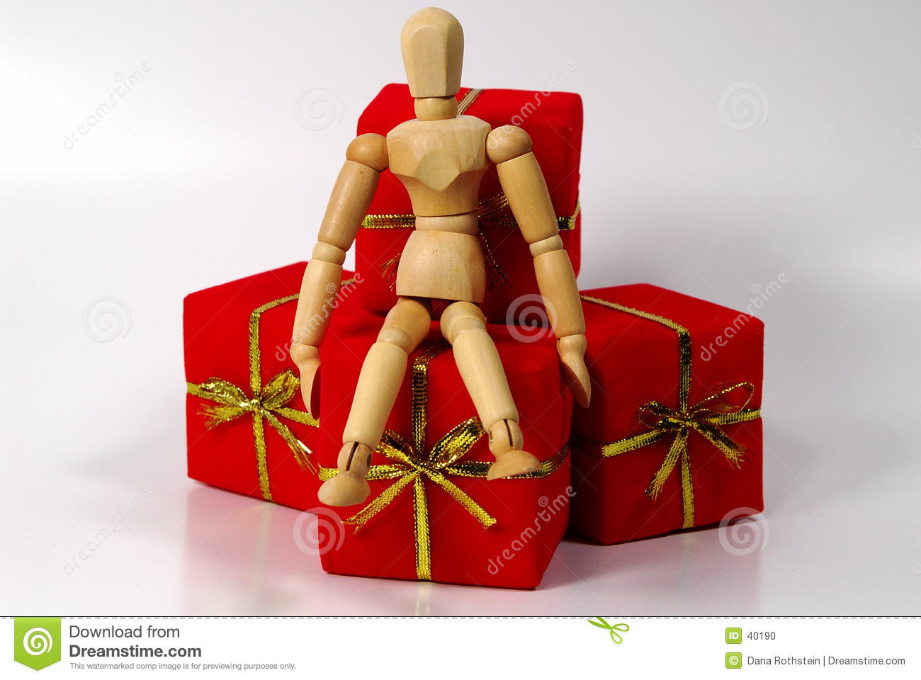 Mannequin With Gifts