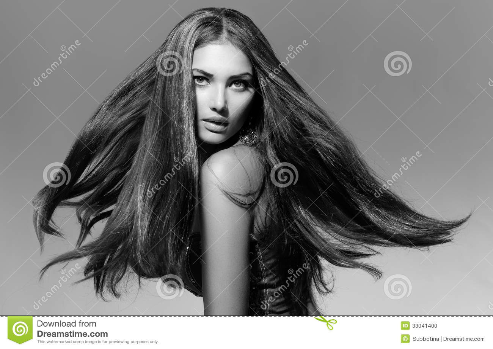 Mannequin noir et blanc Girl