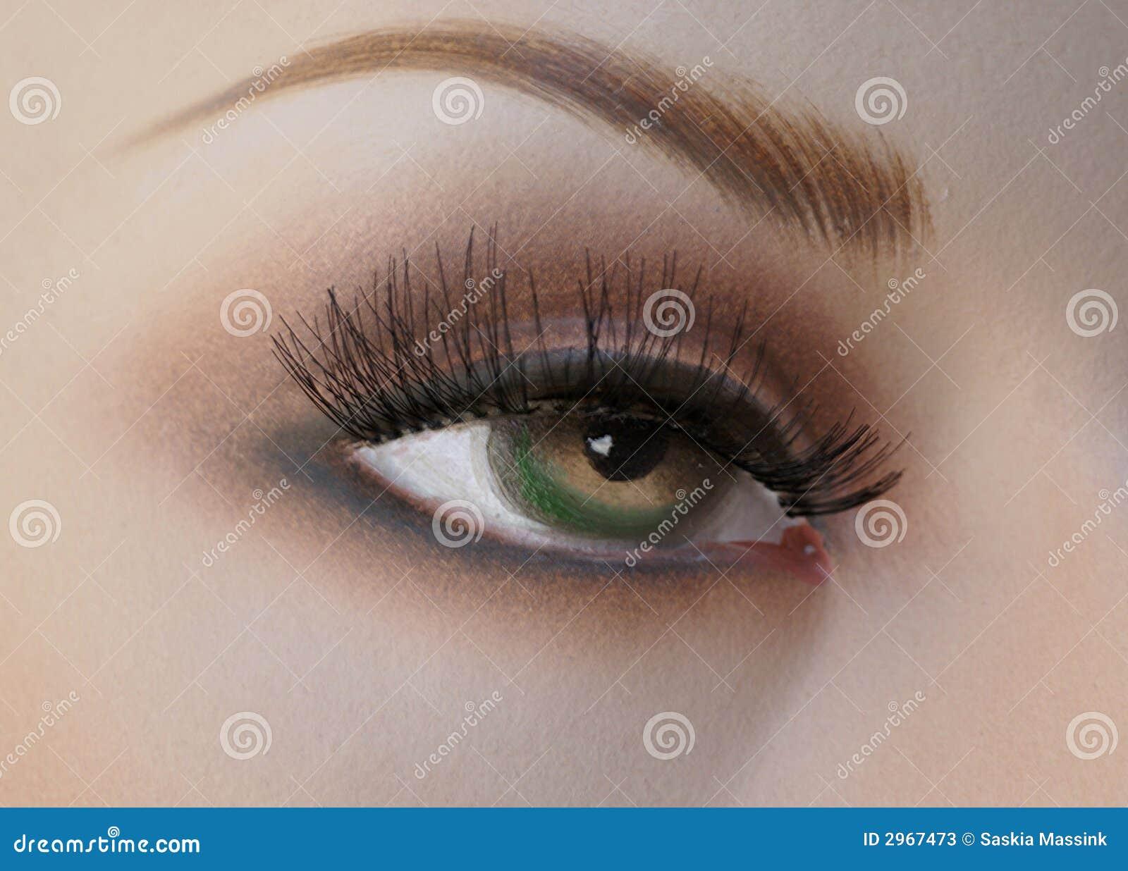 Mannequin s eye.