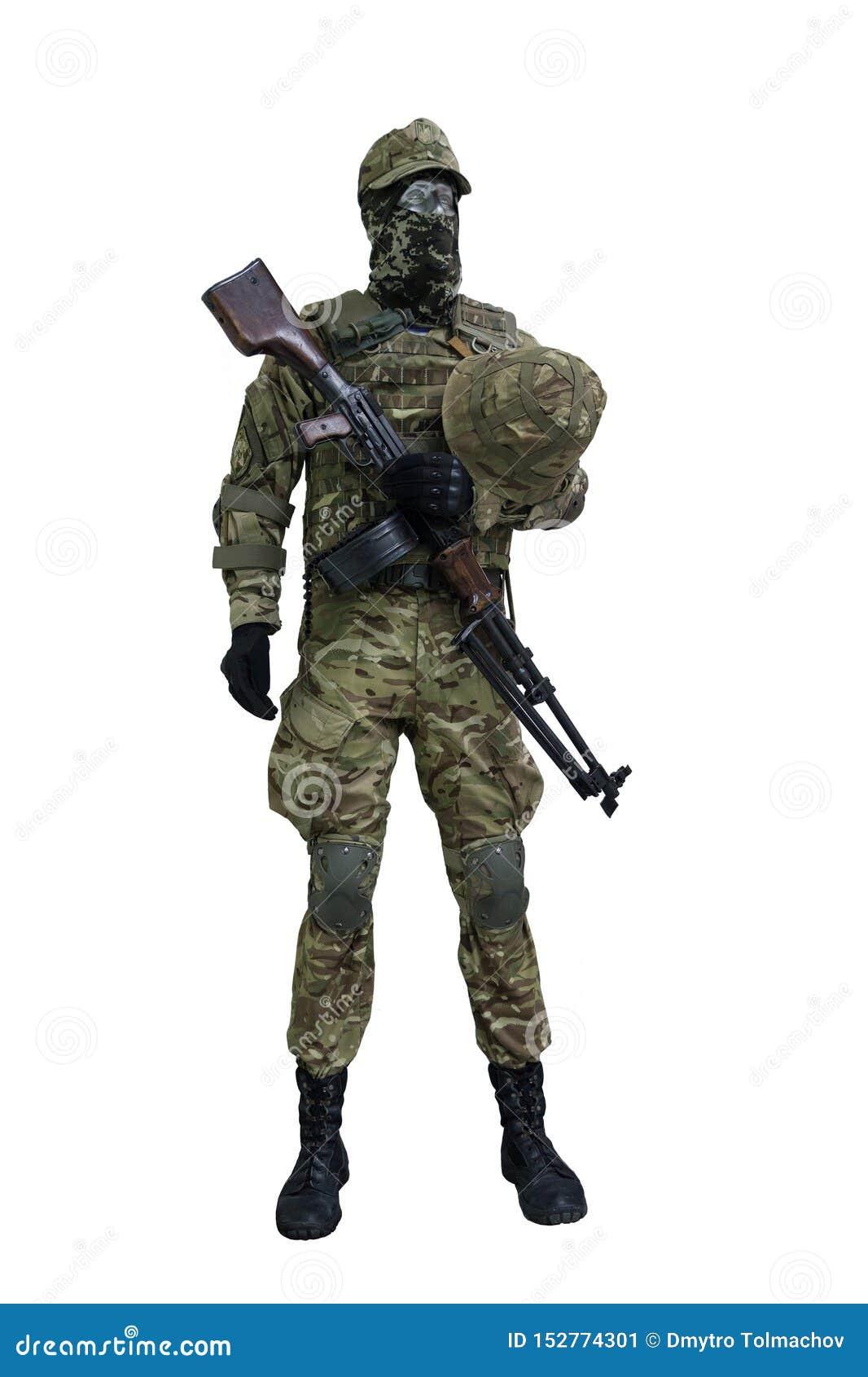 Mannequin sous forme de soldat d infanterie de l armée ukrainienne