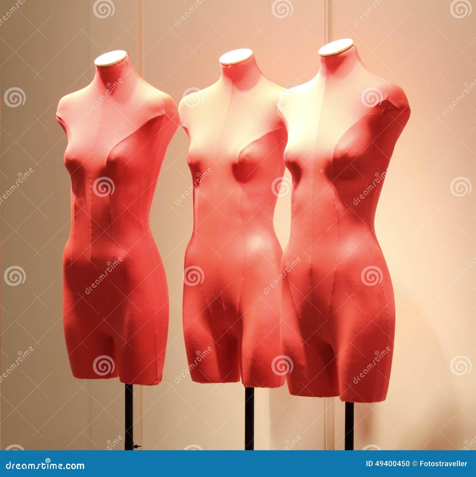 Download Mannequins Im Fenster Einer Butike Stockfoto - Bild von jewelery, frankreich: 49400450