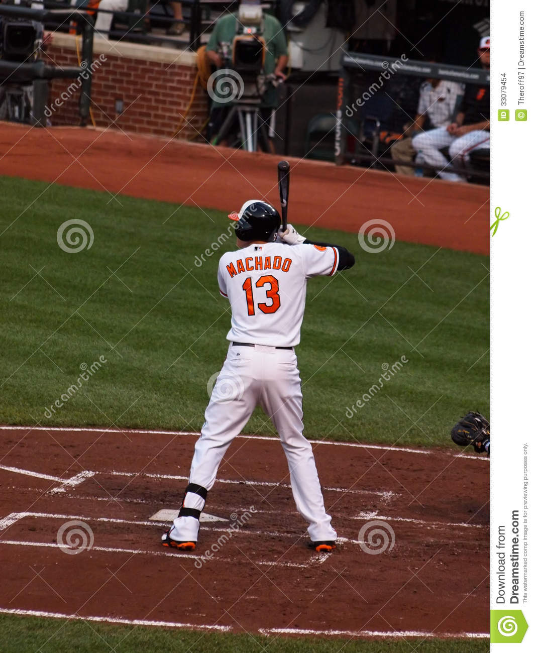 online store 9d9df cd137 Manny Machado editorial stock image. Image of team ...