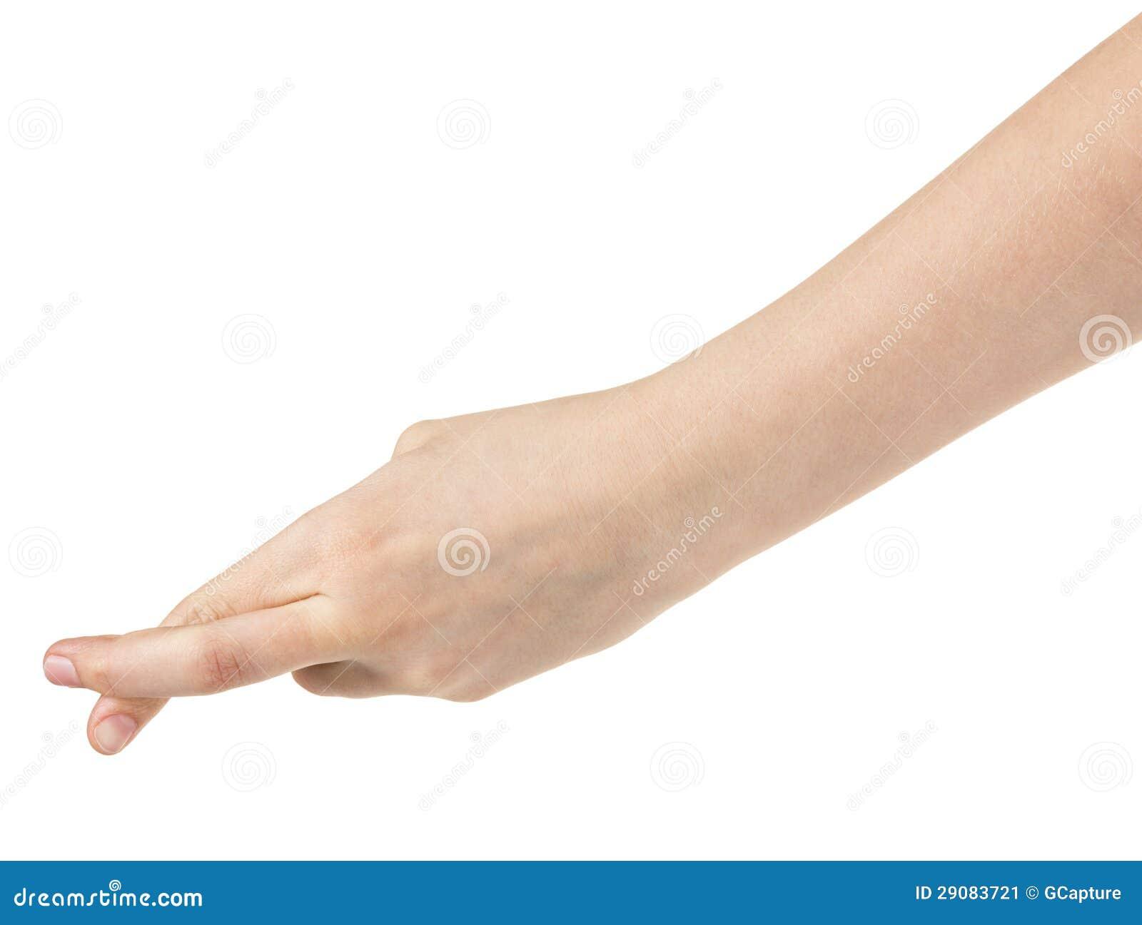 dedos Adolescente