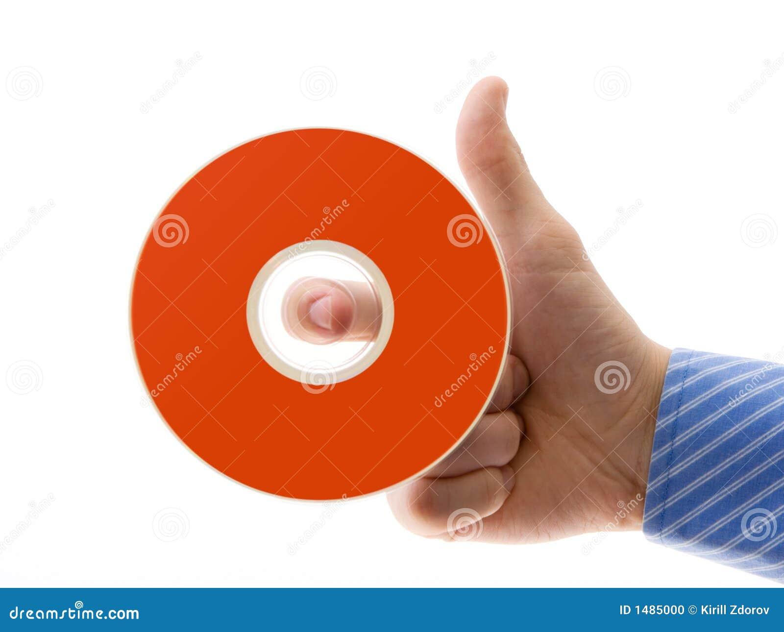 Mano con il disco