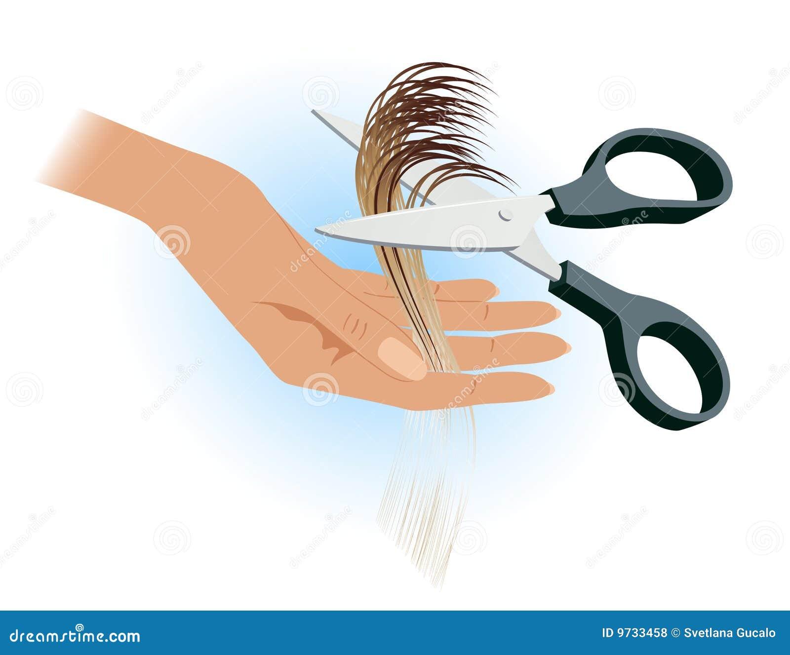 Mano del peluquero