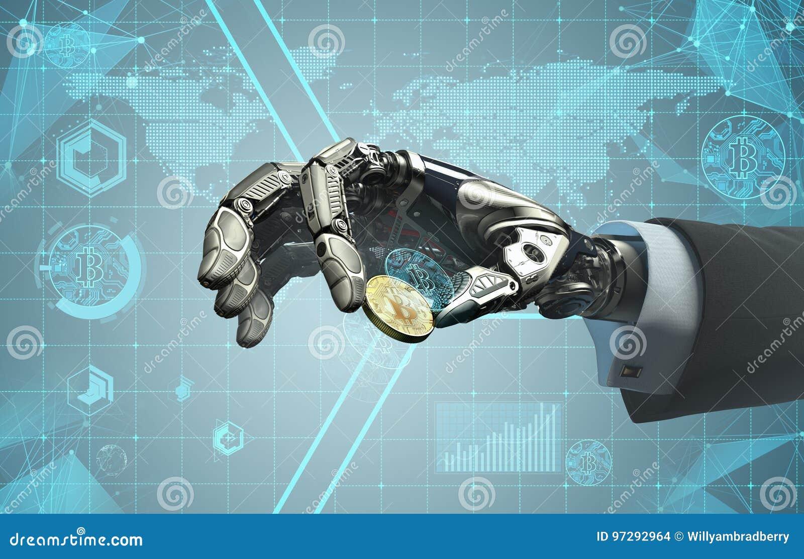 bitcoin commercio robot