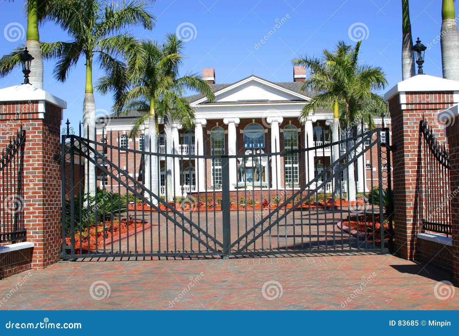 Manoir colonial