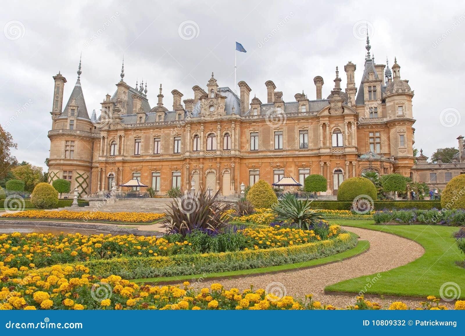Manoir Et Jardin De Waddesdon En Angleterre Photo Stock