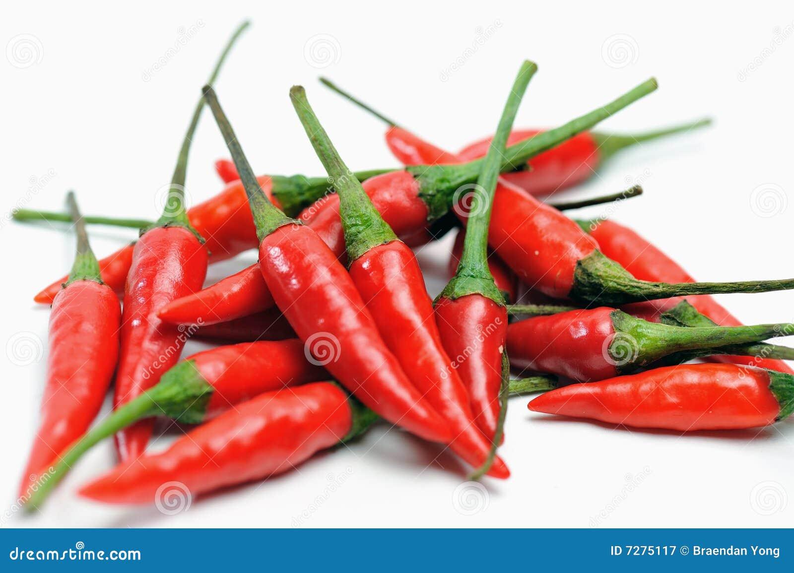 Manojo de chiles rojos II