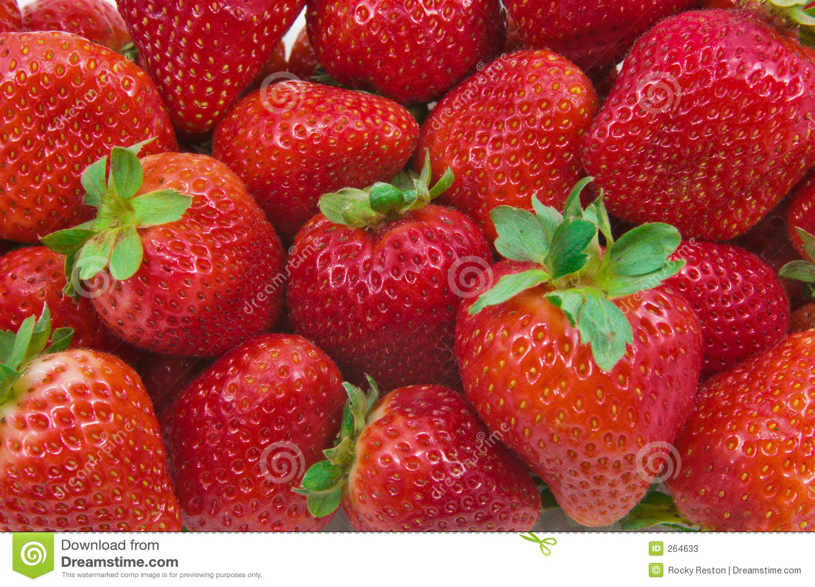 Manojo de fresas