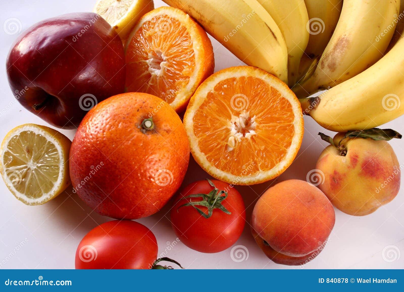 Manojo de frutas