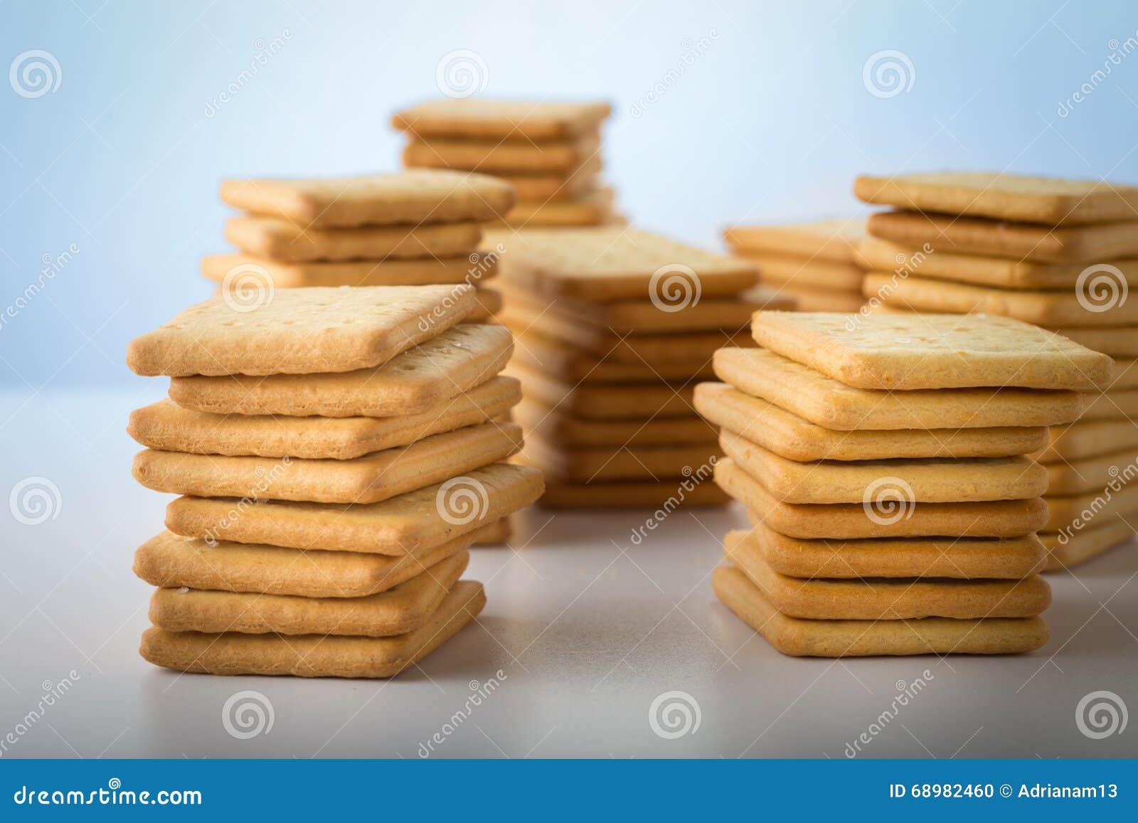 Manojo de galletas saladas