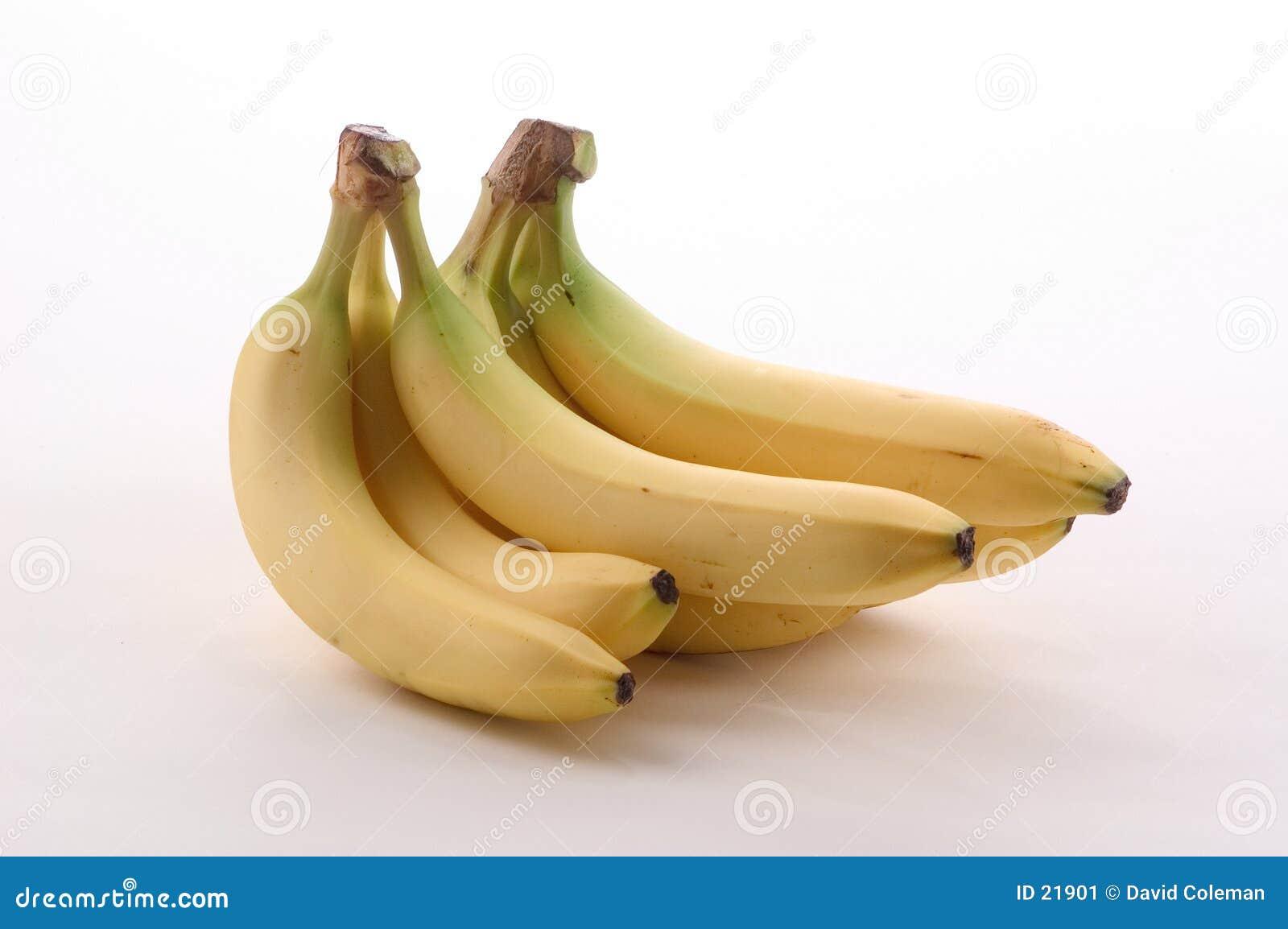 Manojos del plátano