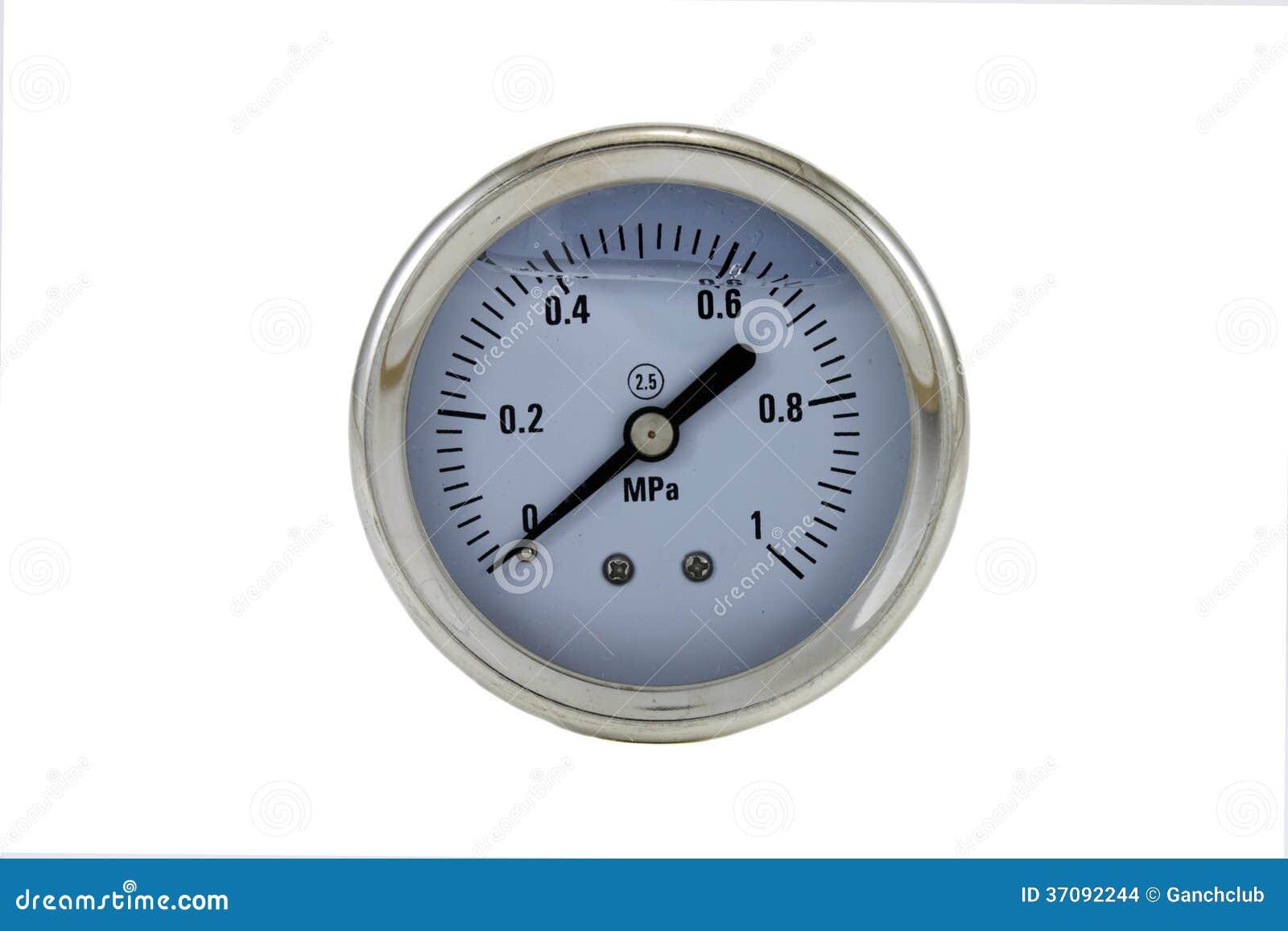 Download Manometr zdjęcie stock. Obraz złożonej z część, przemysł - 37092244