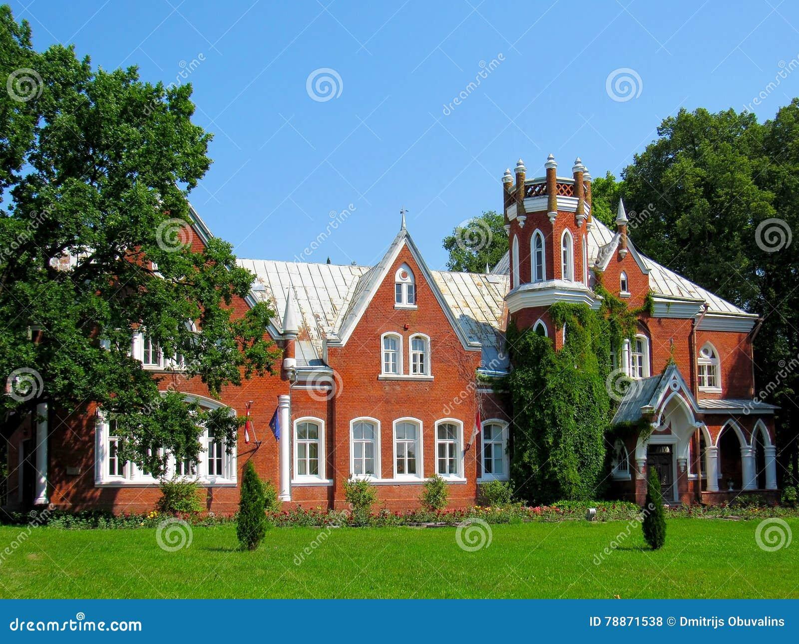 Manor van een baron van de 19de eeuw