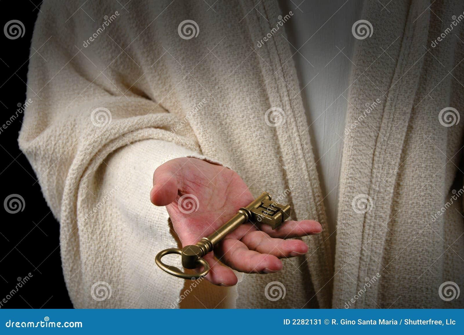Manos de Jesús y del clave