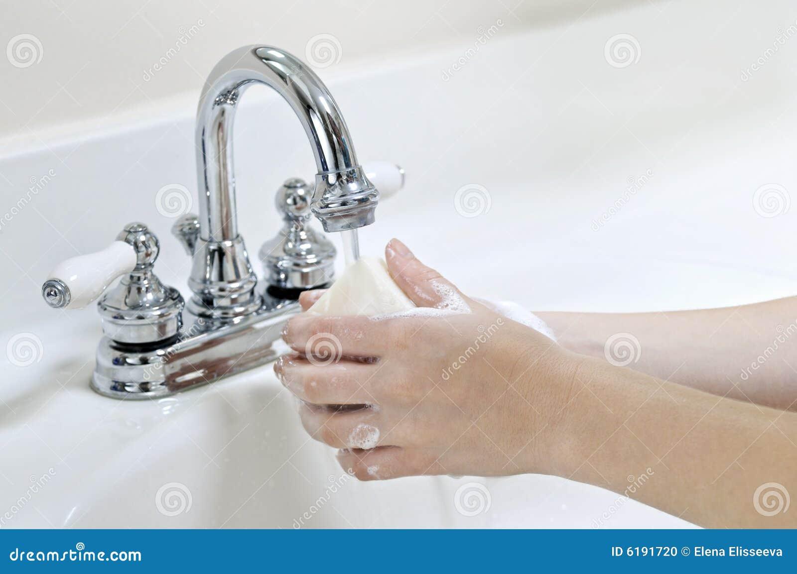 Manos que se lavan
