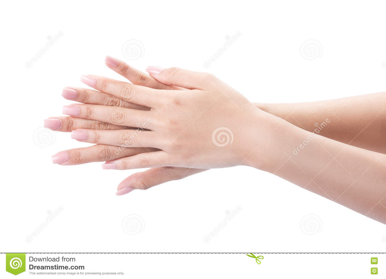 Manos que se lavan del gesto