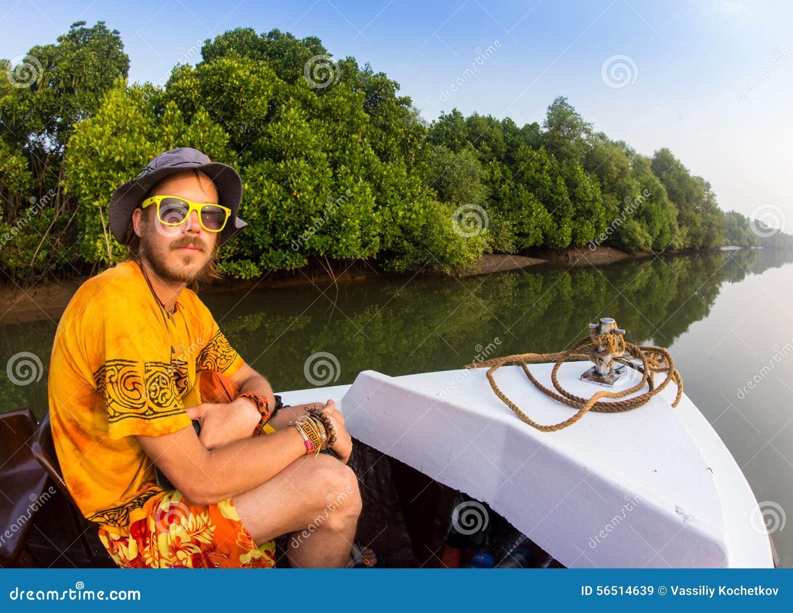 Manresande med fartyget