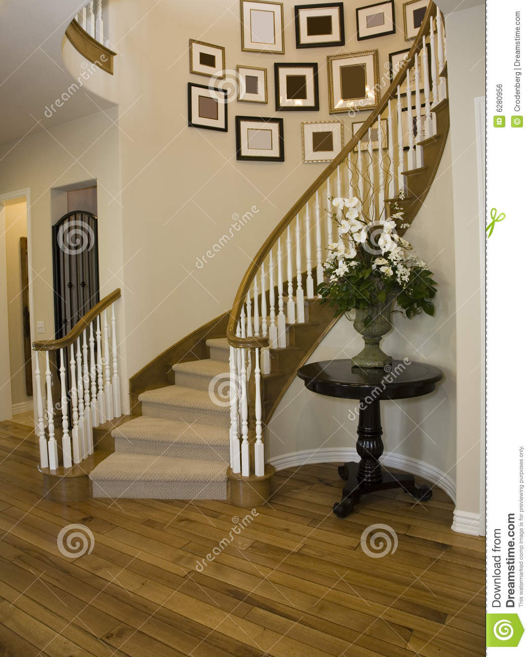Mansion Staircase Royalty Free Stock Image Image 6280956