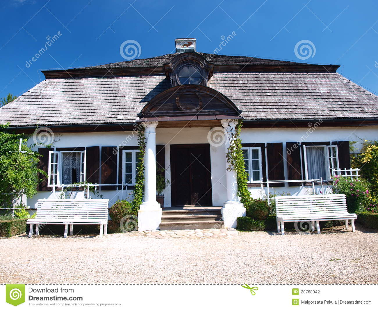 Mansion From Zyrzyn Lublin Poland Stock Photography Image 20768042