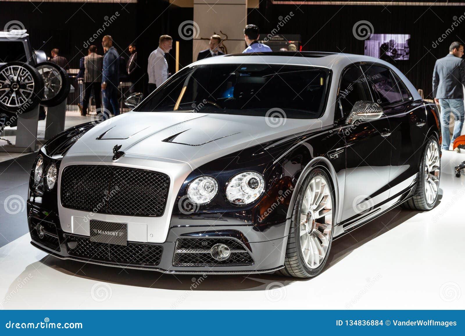 Mansory Bentley Continental Gtc Customized Luxury Car Editorial Stock Image Image Of Show Frankfurt 134836884