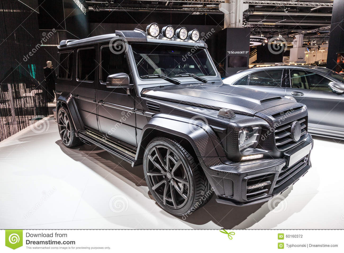 mansory mercedes benz g class at the iaa 2015 editorial. Black Bedroom Furniture Sets. Home Design Ideas