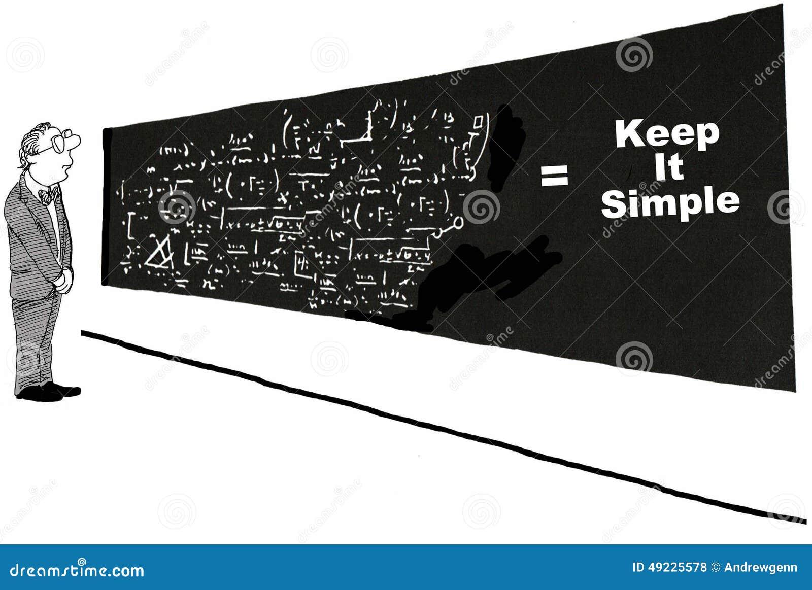Manténgalo simple