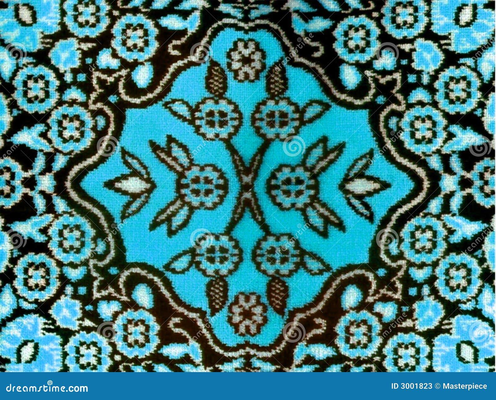 Manta clásica de la tela floral